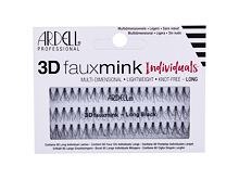 Falsche Wimpern Ardell 3D Faux Mink Individuals Knot-Free 60 St. Long Black