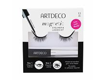 Falsche Wimpern Artdeco Magnetic Eyeliner & Lashes Kit 1 St. 11 Daily Dress Sets