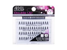 Falsche Wimpern Ardell Double Up  Duralash Knot-Free Double Flares 56 St. Long Black