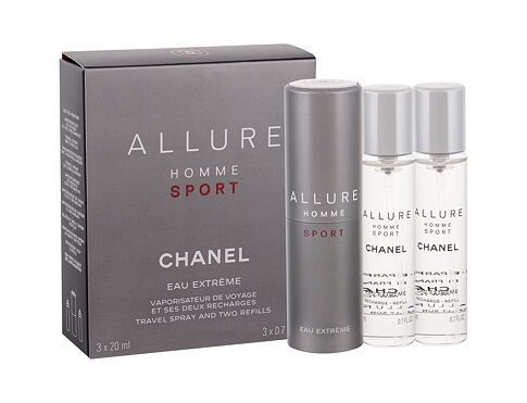 Eau de Toilette Chanel Allure Homme Sport Eau Extreme Twist and Spray 3x20 ml