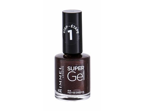Nagellack Rimmel London Super Gel STEP1 12 ml 014 Hottie Choccie