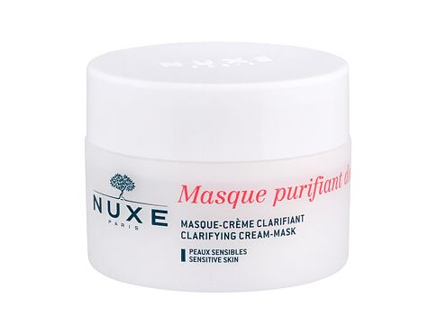 Gesichtsmaske NUXE Rose Petals Cleanser Clarifying Cream-Mask 50 ml